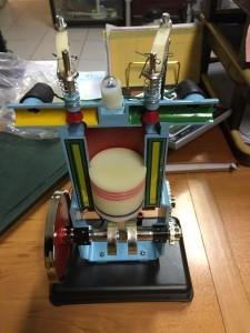 مدل موتور چهار زمانه