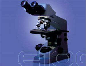 میکروسکوپ بیولوژی دو چشمی مدل E100 نیکون
