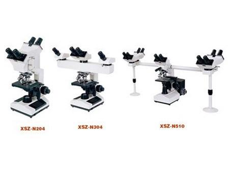 میکروسکوپ بیولوژی استاد - دانشجو سه نفره