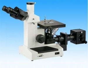 میکروسکوپ اینورت متالوژی سه چشمی