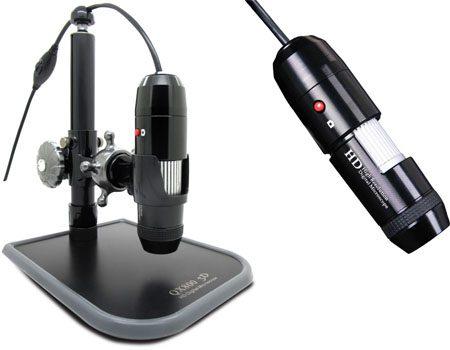 میکروسکوپ اندازه گیری همراه با نرم افزار نمایش سه بعدی