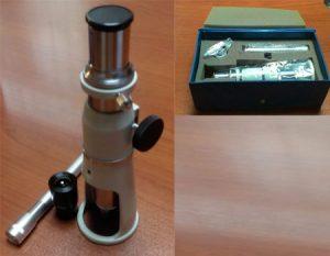میکروسکوپ اندازه گیری پرتابل