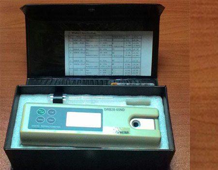 رفراکتومتر دیجیتال پرتابل - بریکس 65 - 28