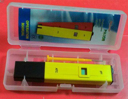 ph108pH متر قلمی
