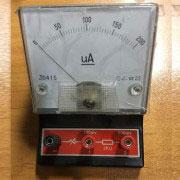 آمپرمتر - میلی آمپرمتر - میکرو آمپرمتر DC رومیزی